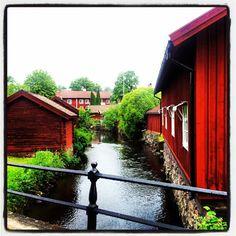 Norberg, a little village 2 hrs north of Stockholm, Sweden. Photo by Viggo Andersen.