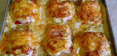 A szombati ebéd: 7 tökéletes tepsis egytálétel - Receptneked.hu - Kipróbált receptek képekkel Gordon Ramsay, Poultry, Yummy Treats, Quiche, Food And Drink, Pizza, Menu, Cooking Recipes, Tasty