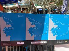 De routes van dag 1 van het Mallorca Walking event 2018