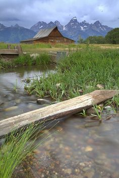 """The """"famous"""" barn in the Grand Tetons that has been photographed thousands of times."""