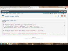 How to Google Webmaster Verify Your Joomla Website Using the *head* tag on your Joomla 2.5 Template