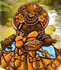 Orisha, Afro, Culture, Altar, Art Work, Spirit Guides, Popsicle Stick Crafts, Spirituality, African Mythology
