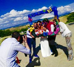 #frame #wedding #photo #colours #butterflies #flowers #craziness #photographer <<< Wedding Michela & Fulvio, 05.06.2016 >>>