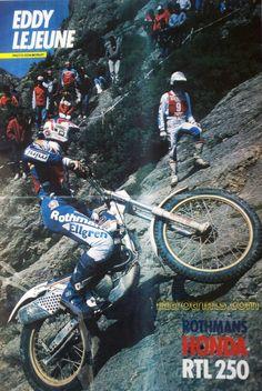 eddy lejeune honda trial - Google Search Trial Bike, Bmw, Racing Motorcycles, Motocross, Trials, Pilot, Honda, Bicycle, Classic