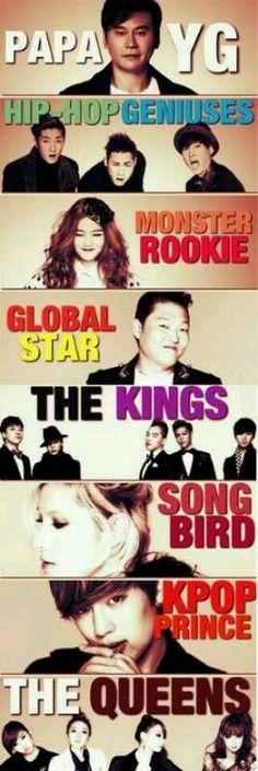 #빅뱅 #에픽하이 #LeeHi #2NE1 #se7en #Gummy #YG #Psy