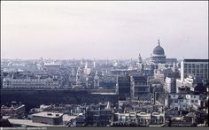 View of the City from the Monument, 1959.