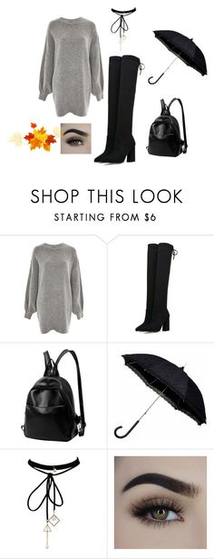"""Bez tytułu #739"" by dodka529 on Polyvore featuring moda, Treasure & Bond i WithChic"