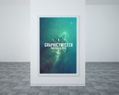 Free poster mockup examples to download in PSD format