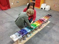 20151110_103120 Kids Art Space, Art For Kids, Arno Stern, Reggio Emilia Approach, School Organisation, St Pierre, Initiation, Palette, Table