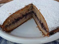 Soffice e molto digeribile. - Ricetta Dessert : Torta con farina di grano saraceno e mirtilli da Sarina89