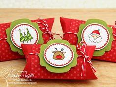 más y más manualidades: Hermosas cajitas para obsequios navideños hechas con un solo molde