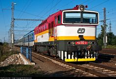 RailPictures.Net Photo: CD - Ceske Drahy 754 012 at Breclav, Czech Republic by Gerhard.zant