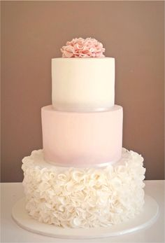 Fun 3 Tier Wedding Cake