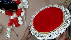 Training by Laxmi Singla on Wedding Jewellery Platter Elegant Wedding Rings, Wedding Ring Designs, Wedding Jewelry, Wooden Platters, Trousseau Packing, Pearl Decorations, Baby Baskets, Packing Jewelry, Create Yourself