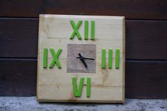 A wooden wall clock - by Daniele Atzeni©