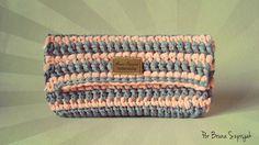 Aprendiz de Crocheteiras: Carteira Envelope | Eurofios