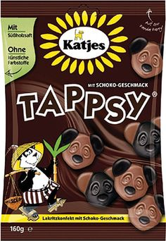 Katjes Tappsy Candies imported from Germany by Gourmet International www.Gourmetint.com