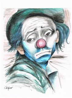 Drawings of clowns gangster clowns drawings evil clown top sad for Pencil Drawings Of Nature, Pencil Drawings Of Girls, Le Clown, Clown Faces, Evil Clowns, Scary Clowns, Gangster Clown, Forest Sketch, Laugh Now Cry Later
