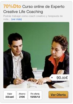 70%Dto Curso online de Experto Creative Life Coaching #ofertas #emagister