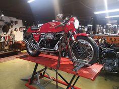 Motorcycle Garage, Vehicles, Shopping, Vehicle