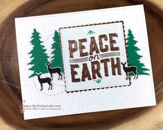 Stampin' Up! Carols Of Christmas Card front builder thinlits. Find supplies at www.mystamplady.com