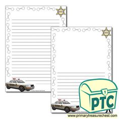 Sheriff's Department Role Play Resources - Primary Treasure Chest