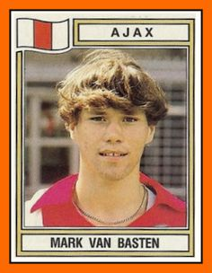 Marco van Basten with Ajax, 1982.