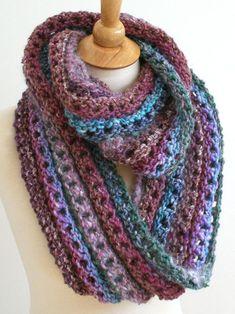 Beginner+Knitting+Instructions | Knitting: Forever Cowl Knitting Pattern