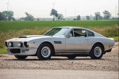 1977 Aston Martin V8 Vantage Coupe.