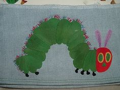 Very Hungry Caterpillar Applique tutorial