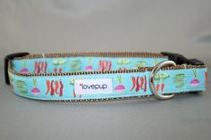 Eat Your Veggies - Dog Collar. One of my favs. Lovepup.