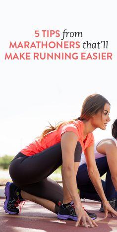 5 tips from marathoners that make running easier