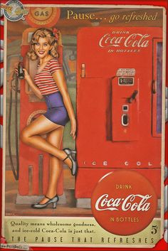 Pinups - Coca Cola by warbirdphotographer