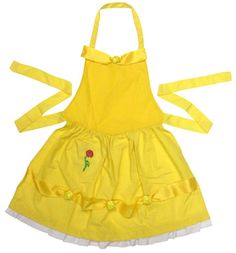 Belle's Apron. I think I'd do the skirt of the apron with pick-ups so it looks more like her dress.