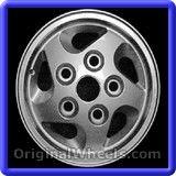 Land Rover Defender 1997 Wheels & Rims Hollander #72142 #LandRover #Defender #LandRoverDefender #1997 #Wheels #Rims #Stock #Factory #Original #OEM #OE #Steel #Alloy #Used