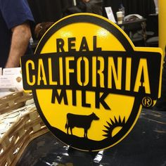Be sure to look for this seal on ice cream butter yogurt and milk! 100% @realcalifmilk are 99% family owned!  #momblogtourff [ad]
