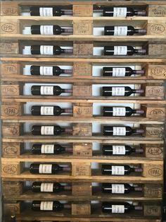 Wijnrek pallet