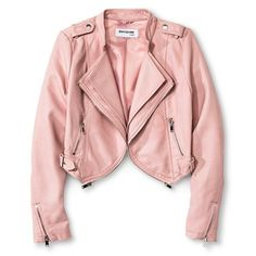 Toddler Girls&39 Pink Faux Leather Jacket from Joe Fresh. Only