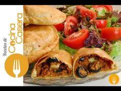 Empanada criolla argentina. Video Receta | Recetas de Cocina Casera - Recetas fáciles y sencillas