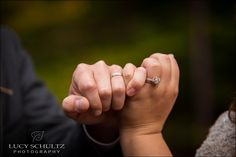 Pinky Promise | Wedding Ring Shot | Lucy Schultz Photography