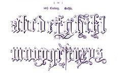 Typography - Alphabet - Ornamental, Renaissance, medieval  (33)