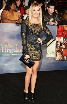 Inside the Twilight Saga Breaking Dawn - Part 2 Premiere: Ashley Tisdale
