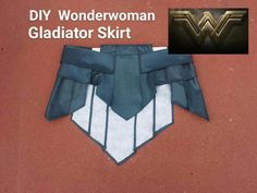DIY Wonder Woman Gladiator skirt. Wonder Woman Cosplay Part 1