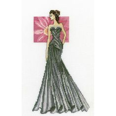 Miss Elegance (counted cross stitch kit) - RTO