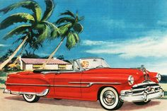 1953 Pontiac Chieftain DeLuxe Convertible