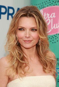 Michelle Pfeiffer's Classic Curls