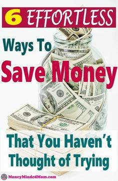 Save even more money than you thought was possible. Saving money doesn't have to be hard. You can save money without going to extremes. Try these 6 simple ways to start saving money effortlessly. Best Money Saving Tips, Money Saving Challenge, Money Tips, Saving Money, Savings Challenge, Money Hacks, Living On A Budget, Frugal Living Tips, Frugal Tips
