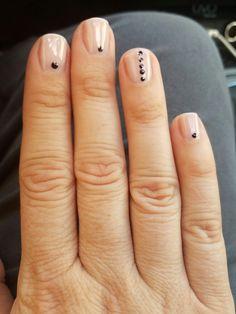 Simple nail art.....gel nails