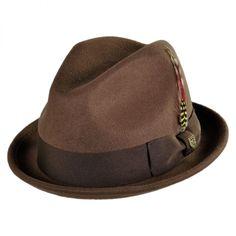 Brixton Hats Gain Wool Felt Fedora Hat