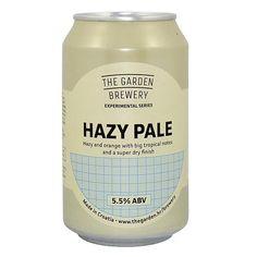 The Garden Brewery Hazy Pale Ale Garden Brewery, Shops, Ipa, Craft Beer, Tropical, Orange, Bottle, Brewery, News
